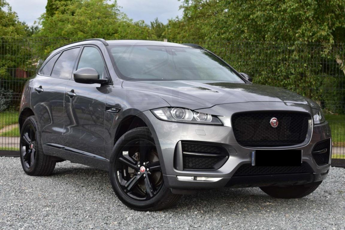 SOLD - #9708 - Jaguar F-Pace R Sport Black Edition ...